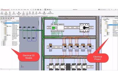 SOLIDWORKS Electrical Professional phần mềm thiết kế điện 3D tốt nhất
