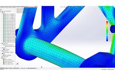 Mô phỏng 3D cơ khí chuyên nghiệp với SOLIDWORKS Simulation Professional